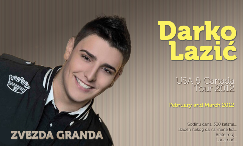 Darko Lazic 2012 Darko Lazi Usa And Canada